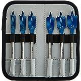 """Bosch Professional 7tlg. Flachfräsbohrer Set Self Cut Speed mit 1/4""""-Sechskantschaft inklusive Verlängerung"""