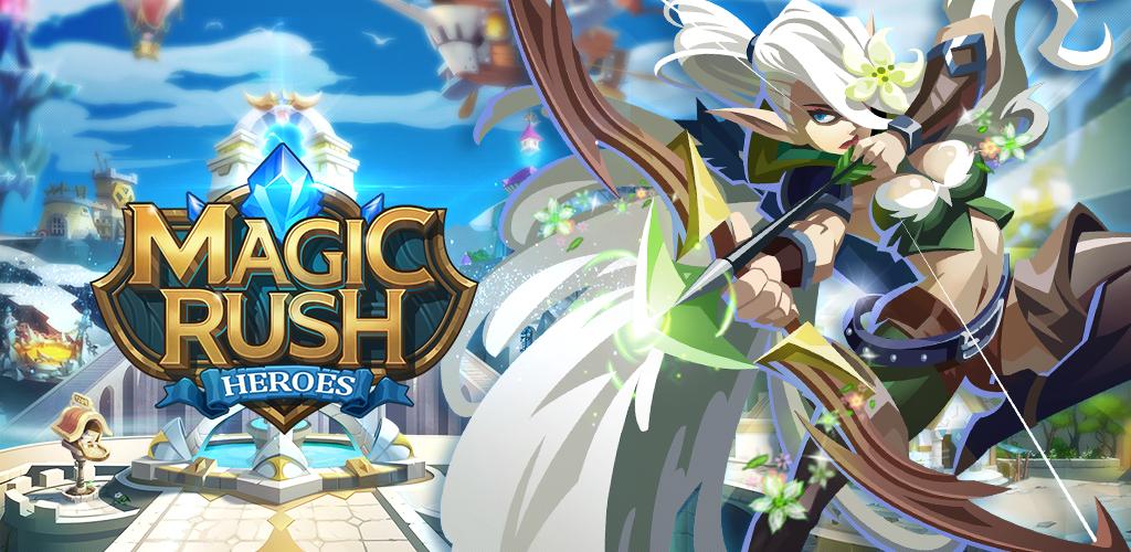 Magic Rush Heroes telecharger gratuit sans verification humaine