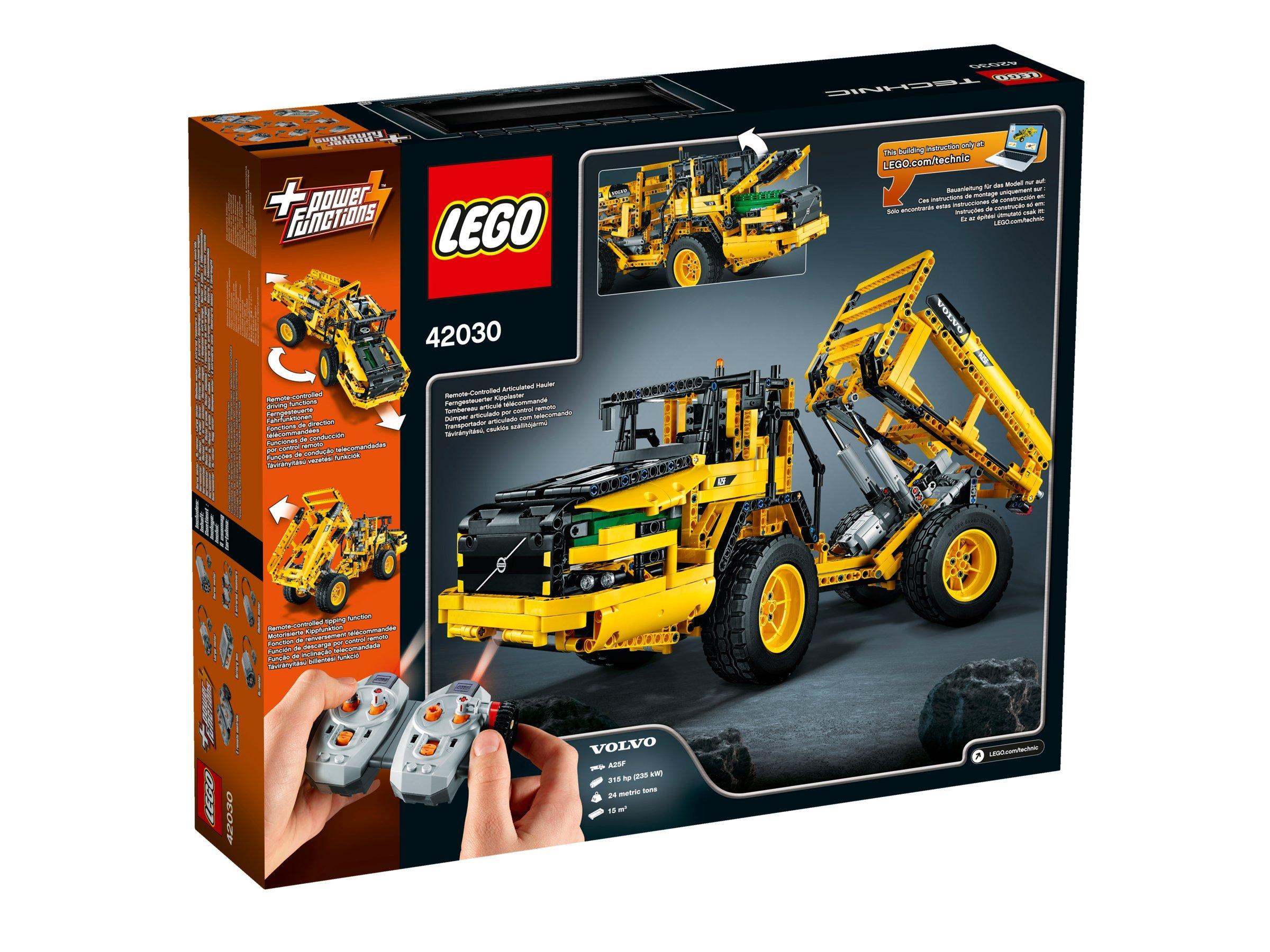 LEGO Technic 42030 – VOLVO L350F Radlader, 2 in 1 Gerät, Dumper