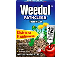 Weedol Ultra Tough Weed Killer Liquid Concentrate (12 Tubes)