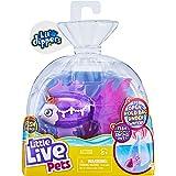 Little Live Pets Lil' Dippers – Seaqueen – Lil' Dippers de Little Live Pets con Efecto «Wow» al desempaquetar en Agua y Alime