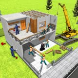 Modern Home Design & House Construction Games 3D