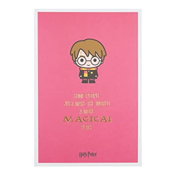 Hallmark Harry Potter Birthday Card Magical Place Medium