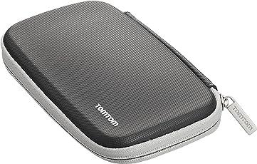 TomTom Klassische schützende Tragetasche (geeignet für alle TomTom-Navigationsgeräte mit 6-Zoll-Display, z. B. TomTom go, Start, Via, go Basic, go Essential, Rider, go Professional, go Camper)