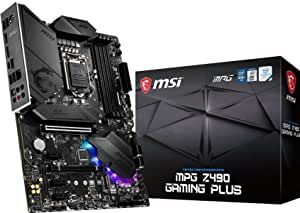 Msi Mpg Z490 Gaming Plus Gaming Motherboard Atx 10th Computers Accessories