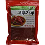 Korean Red Chili Pepper Flakes Powder Gochugaru (1 Lb) By Tae-kyung