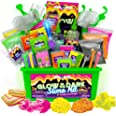 Original Stationery Slime para Niños Fabrica de Slime Neon Tropical Glitter Glow in The Dark Slime Kit Prepara Crunchy Slime,
