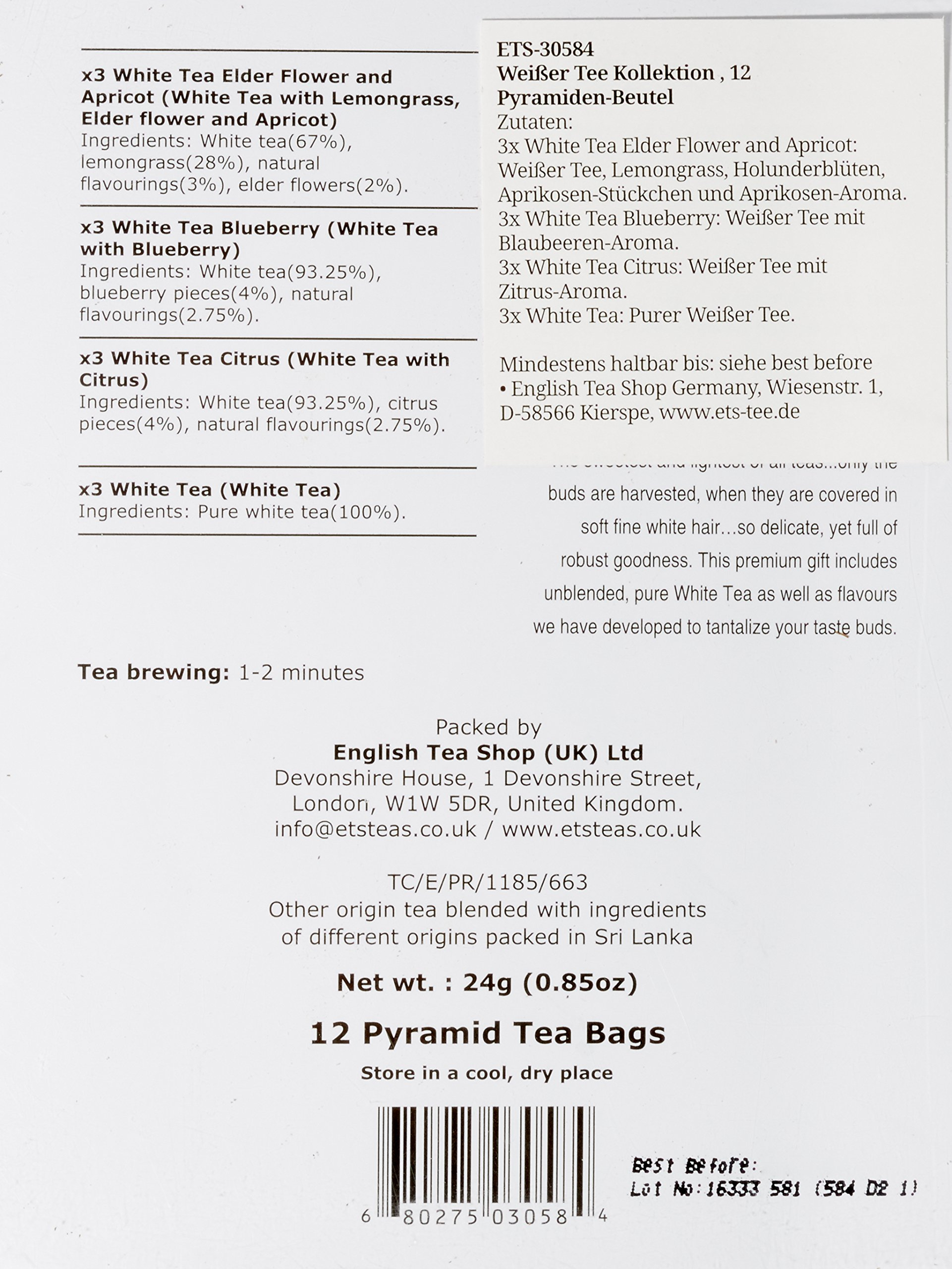 Teegeschenk-Weier-Tee-Kollektion-mit-Schleife-12-Pyramiden-Beutel-4-verschiedenen-Geschmacksrichtungen