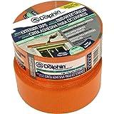 WDVS Orange schoonmaakband schildertape textieltape afplakband 7 dagen UV 50m x 48mm
