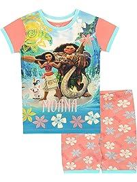 Disney Pijamas de Manga Corta para niñas Moana