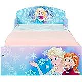 Disney Frozen Eiskönigin Bett für Kleinkinder von Worlds Apart Holz violett 143 x 77 x 42.5 cm