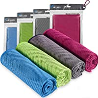 4pc Cooling Towel, Cool Towel, Gym Towels, Cold Towel, Cooling Towels for neck, Ice Towel Cooling Blanket, Cooling neck…