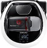 Samsung VR7000 VR1GM7030WW/EG POWERbot Saugroboter (80W, extra starke Saugkraft ideal für Teppiche und Tierhaare, saubere Ecken, WLAN und App, Alexa, Fernbedienung, Startzeit-Vorwahl) weiß
