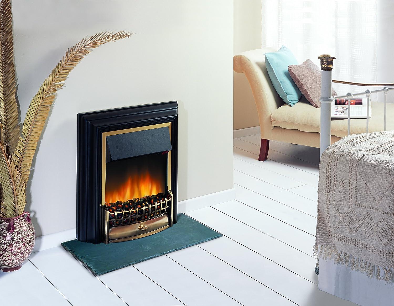 Flame Effect Electric Fires Part - 17: Dimplex CHT20 Cheriton Freestanding Optiflame Electric Fire: Dimplex:  Amazon.co.uk: DIY U0026 Tools