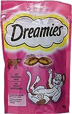 Dreamies Katzensnacks/Klassiker Klassiker, mit Rind, 6 Beutel (6 x 60 g)
