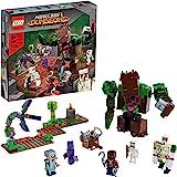 LEGO 21176 Minecraft L'abomination de la Jungle Jouet et Donjon pour Filles et Garçons, Set avec Figurines