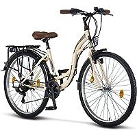 Licorne Bike Stella Premium City Bike in 24,26 und 28 Zoll - Fahrrad für Mädchen, Jungen, Herren und Damen - 21 Gang…