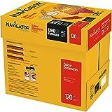 NAVIGATOR Colour Documents - Caja con folios de papel multifunción, 8 paquetes de 250, 120 g/m²