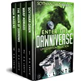 Enter the Dawniverse: Books 1-4 Boxed Set (Scythian Dawn, Warp Nomads, The Moon of Sorrows, Iron Maidens)