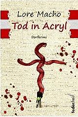 Tod in Acryl: Dorfkrimi Kindle Ausgabe