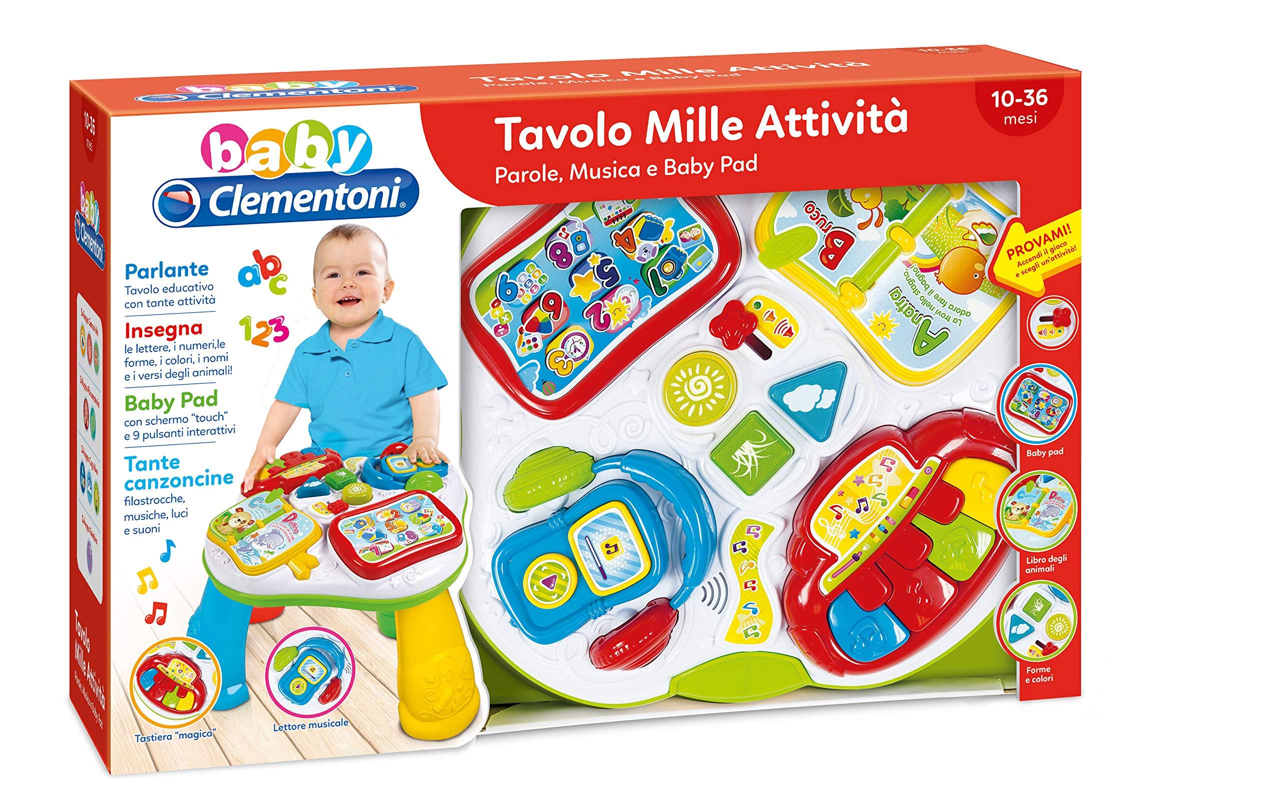Tavolo Mille Attivit.Clementoni Tavolo Mille Attivita 17259