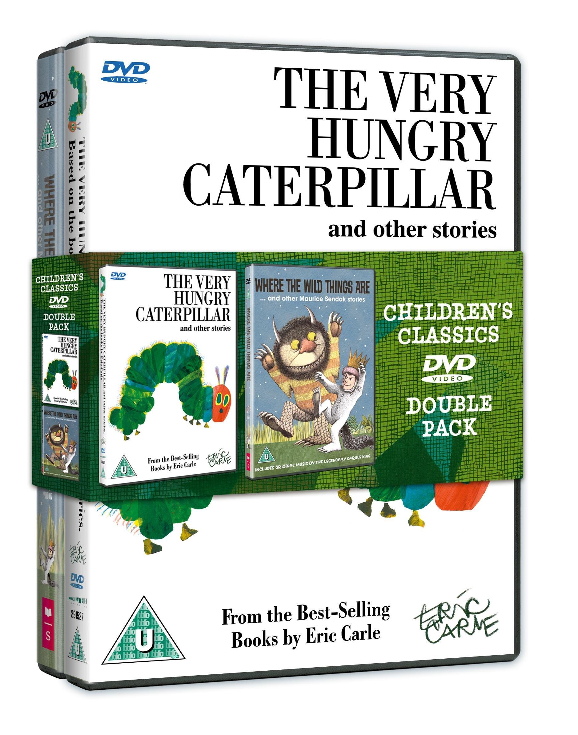 Very Hungry Caterpillar/Where The Wild Things Are - Double Pack [DVD] [Edizione: Regno Unito]