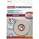 tesa Powerbond INDOOR, 1.5 x 19mm, wit