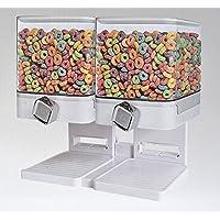 Articoli per la casa bianco Fresh /& Easy Classic cibo secco di cereali Dispenser doppie