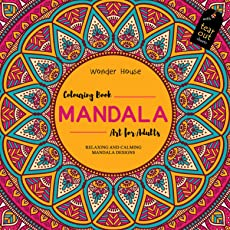 Mandala Art: Colouring Books for Adults with Tear Out Sheets (Adult Colouring Book)