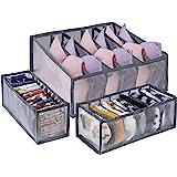 MengH-SHOP Organizadores de Cajones Plegable Ropa Interior Organizador de Armario para Almacenar Calcetines Bufandas Sujetado