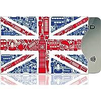 OPTEXX® 1 x custodia protettiva con certificazione TÜV & certificato per carte di credito | carte di debito | carta d…