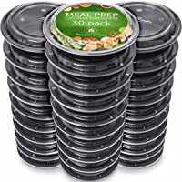 Boite Repas [Lot de 30] Meal Prep Containers - Réutilisables Boites Alimentaires pour Préparation des Repas - Étanche…