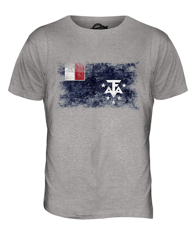 Shoppen Sie CandyMix Französische Süd- Und Antarktisgebiete Weinlese Flagge  Herren T Shirt auf Amazon.de:T-Shirts