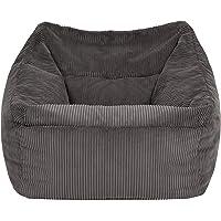 """icon Übergroßer Sitzsack-Sessel """"Morgan"""", Cord, Sitzsäcke für das Wohnzimmer, Schlafzimmer, Sitzsäcke für Erwachsene…"""
