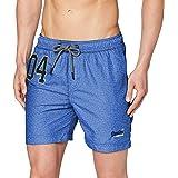 Superdry Water Polo Swim Short Pantalones Cortos para Hombre
