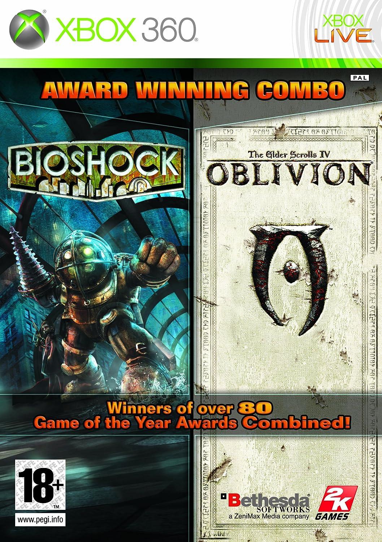 bioshock elder scrolls oblivion double pack xbox 360 amazon