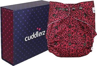 Cuddlerz Reusable Cloth Diaper with Insert (Junglee)