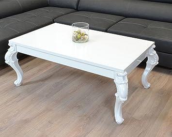 Wohnzimmer Tisch Beistelltisch Orientalisch Barock Vintage Antik Geschwungene Und Verzierte Tischbeine C163 120x70 Amazonde Kche Haushalt