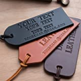 Luggage Tags Handcrafted Personalised PREMIUM Make It Yours Real Leather Luggage Suitcase Travel Tag Tags Handmade