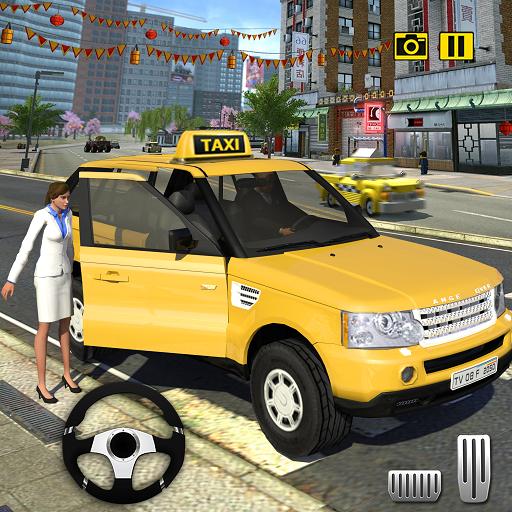 Verrückt Taxi Fahren Simulator 2018 NY Stadt Taxi Taxi Treiber Spiele (Auto Fahren Simulator)