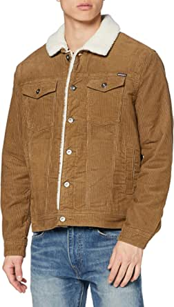 Superdry Men's Highwayman Cord Sherpa Trucker Denim Jacket