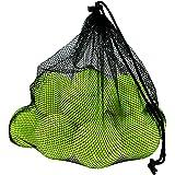 Philonext - 12 palline da tennis con borsa a rete, per allenamento, tennis con borsa in rete, ideali per lezioni di tennis, a