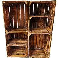 Caisses à fruits/caisses en bois flammées dans de nombreuses variantes – Idéal pour la construction de meubles ou pour…