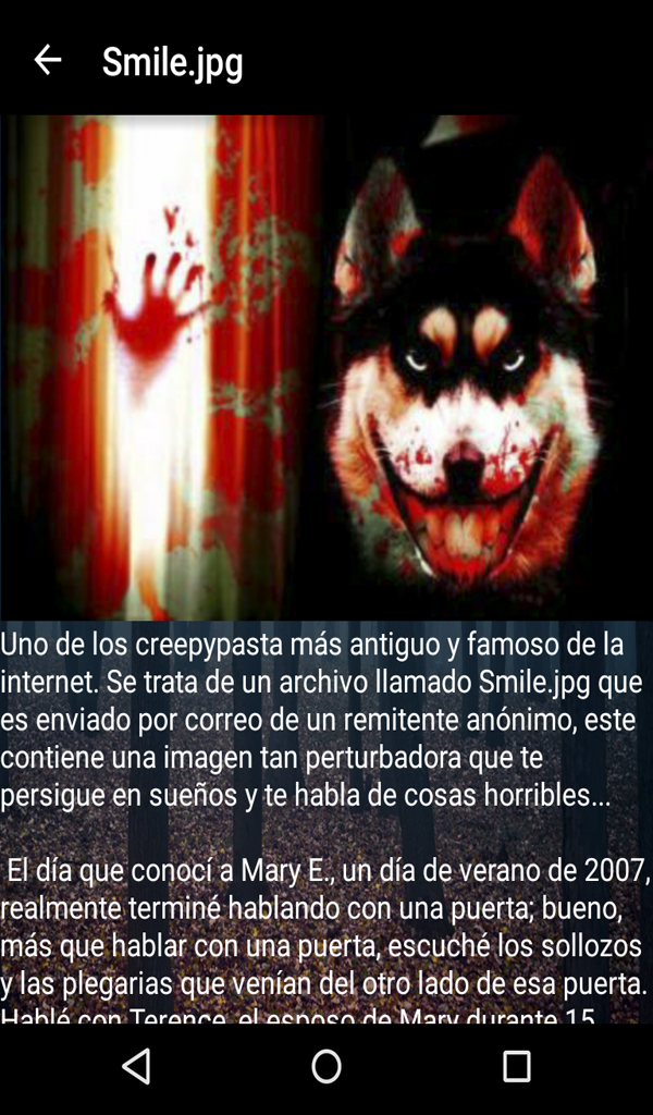 Leyendas Y Creepypastas Amazon Co Uk Appstore For Android