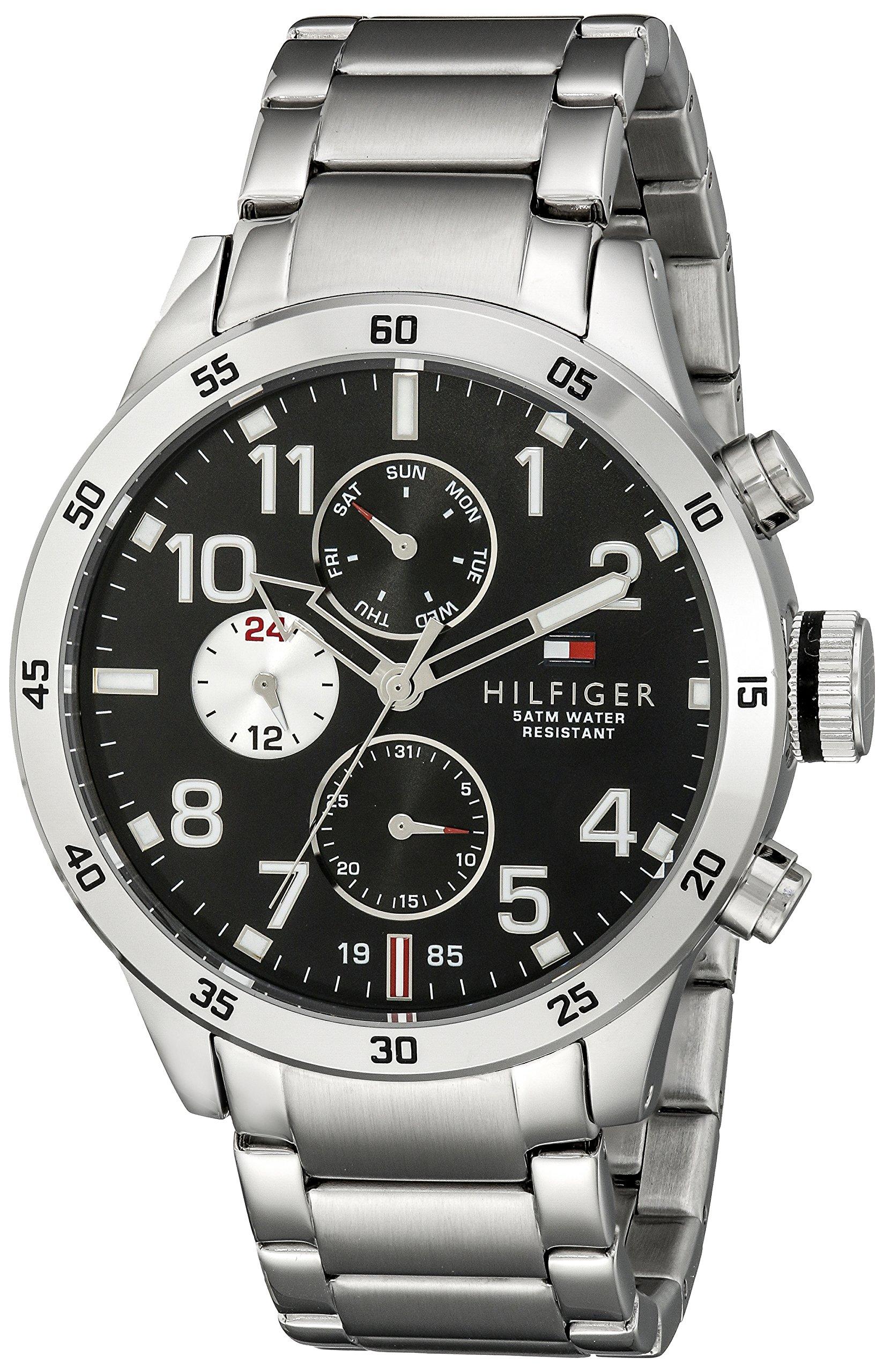 Reloj para hombre Tommy Hilfiger 1791141, mecanismo de cuarzo, diseño