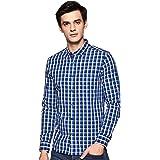 Amazon Brand - Symbol Men's Slim Fit Casual Shirt