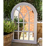 Creekwood, Durable Frame, Any Weather Ornament-W50cm x H76cm Toscana Indoor/Outdoor Lightweight Arched Window Wall…