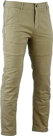 Bikers Gear Australia Limited Kevlar Gefüttert Modern Style Motorrad Jeans Schutz Tan Chino Größe 32r Bekleidung