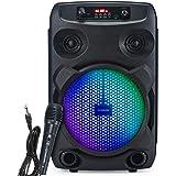 Modernista Sound Box 100 20 Watt Wireless Bluetooth Portable Outdoor Speaker (Black)