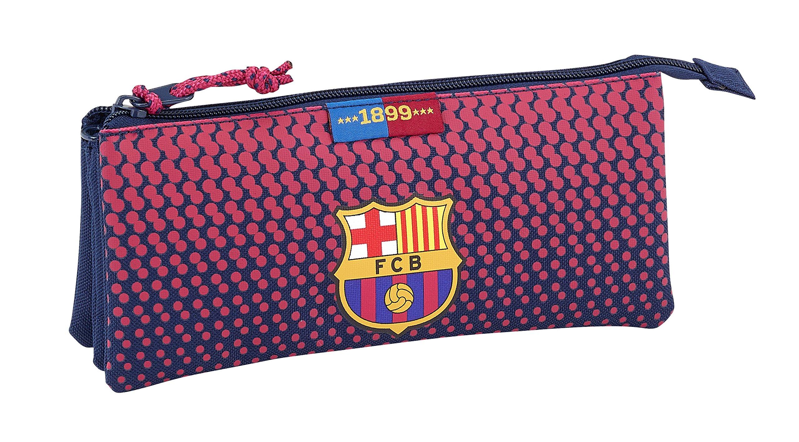 Safta Estuche Escolar F.C. Barcelona Corporativa Oficial 220x30x100mm